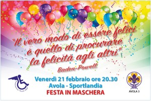 Locandina Festa carnvevale 2020 SuperAbili